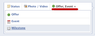 Facebook page- Add Life Events - Milestones