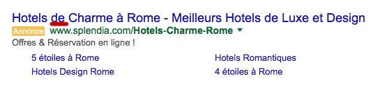 Ads presentation hotels Rome